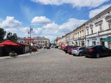 zamknięta ulica w rynku, fot. Iga Michalec