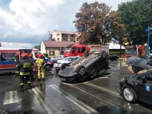 Z ostatniej chwili: poważny wypadek na ul. Barskiej. Trwa akcja ratunkowa