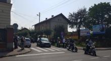 Motocyklowa brać pożegnała tragicznie zmarłego kolegę, fot. IM