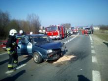 Wypadek za wypadkiem. Aż sześć osób rannych [ZDJĘCIA]