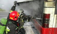 Na Nowochruślickiej palił się autobus MPK. Pasażerowie w niebezpieczeństwie?