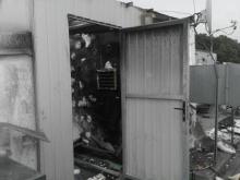 Palił się dach galerii przy Prażmowskiego! Ewakuowało się 30 osób