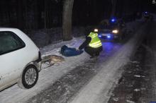 Kulig za samochodem zakończył się tragedią. To się może wydarzyć również u nas