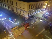 Dziś, czyli 22 lutego około 18.30 na ulicy Jagiellońskiej i Mickiewicza znów doszło do zderzenia dwóch aut. Na miejscu działają służby ratunkowe.