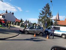 Z ostatniej chwili: wypadek na ul. Długosza. Droga jest zablokowana