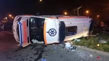 Po wypadku na rondzie Solidarności trzy osoby nadal w szpitalu