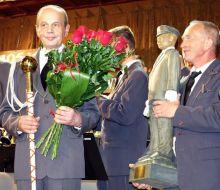 Starosta dziękował również kapelmistrzowi Józefowi Kaliszowi, który prowadził Orkiestrę przez kilkadziesiąt lat