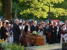 Pogrzeb śp. Edwarda Gruceli