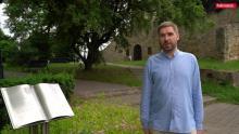 Historyk Jakub Bulzak zdradza tajemnicę parku przy sądeckim zamku