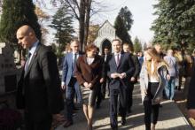 Ludzi po prostu zamurowało. Prezydent Duda szedł sobie po chodniku w Nowym Sączu