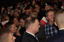 Prezydent Duda w Limanowej: aż chce się żyć, jak się tutaj przyjedzie