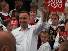 Tłumy na spotkaniu z Andrzejem Dudą w Lipnicy Wielkiej [WIDEO, ZDJĘCIA]
