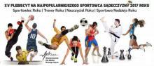 Plebiscyt na Najpopularniejszego Sportowca Sądecczyzny