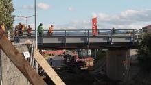 Nowy wiadukt na Zielonej w Nowym Sączu będzie tak samo niski jak stary