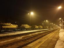 Co robiły w nocy amerykańskie czołgi w Muszynie