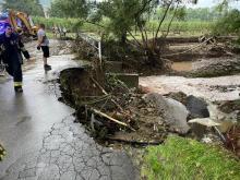 Ogromne zniszczenia po powodzi. Strażacy mieli pełne ręce roboty [ZDJĘCIA]