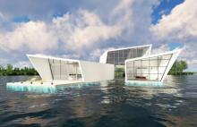 Czego to nie wymyślą: domy na wodzie w Nowym Sączu?! Może jeszcze na Dunajcu?