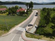 Nowa droga w Tęgoborzy. Sprawdzamy jak wyglądała przed, a jak po remoncie