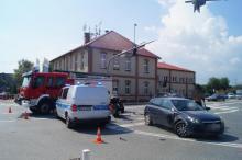 Wypadek w Chełmcu