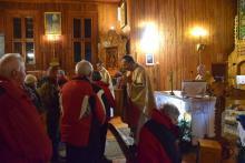 Przewodnicy z Krynicy i Nowego Sącza spotkali się w Kamiannej na kolędowaniu