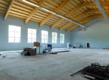 Nowa hala sportowa w Starym Sączu już prawie gotowa [ZDJĘCIA]