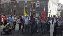 Mieszkańcy Doliny Popradu pielgrzymują na Jasną Górę w grupie nr 23 [WIDEO]