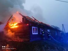 W Młodowie płonął budynek gospodarczy. Niewiele z niego zostało [ZDJĘCIA]