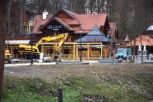 Krynica: po zimowej przerwie wznowiono prace na Polanie Janówka