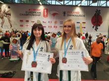 Spisały się świetnie! Sądeczanki przywiozły medale z Mistrzostw Europy w karate