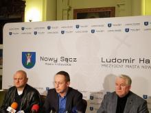 Konferencja prasowa w ratuszu