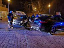 W Limanowej zderzyły się aż trzy samochody. Jak doszło do tej kraksy? [ZDJĘCIA]