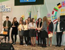 Gminny Konkurs Piosenki Europejskiej w Kamionce Wielkiej