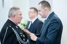 Podegrodzie: Wiesław Czop – strażak z OSP odznaczony Krzyżem Kawalerskim Orderu Odrodzenia Polski