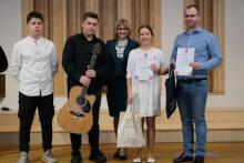 Laureaci konkursu pieśni patriotycznej w Gorlicach