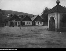 Czarno-biała Sądecczyzna (13). Przeprawa Dunajcem, rynek w Tyliczu i Muszynie