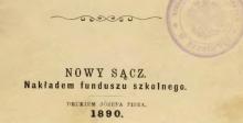 Sto lat sądeckiej przedsiębiorczości: drukarnie i początki przemysłu