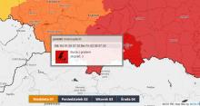 Burze nadciągają nad Kraków, Limanową, Nowy Sącz, Gorlice, Tarnów