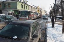 Zakaz parkowania na ul. Długosza w Nowym Sączu przypomnienia