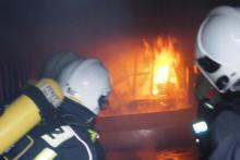 Wszystko płonęło żywym ogniem. W środku było 600 stopni! Strażacy musieli wejść do środka!