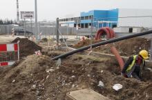 Huk maszyn, robotnicy w wykopach. Co się dzieje na Węgierskiej Sączu [ZDJĘCIA]