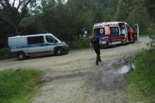 Przyjechał do lasu w Bukowcu na grzyby. Tam doszło do tragedii