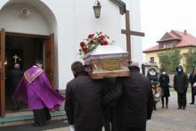 Pogrzeb Mariana Cyconia z ewangelią o czuwaniu. Nie było w tym przypadku