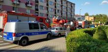 Pogotowie, policja i straż pożarna na ul. Grota Roweckiego. Co tam się stało?
