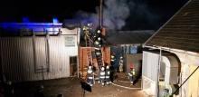 Wielki pożar w Moszczenicy. Paliła się suszarnia drewna [ZDJĘCIA]