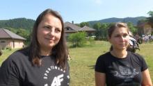 zawody jeździeckie w stajni Beskid w Łabowej, fot. Iga Michalec