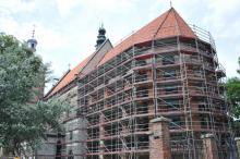 Zaczął się remont sądeckiej bazyliki