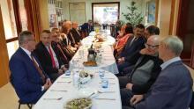 Sołtysi ze Stowarzyszenia Sołtysów Ziemi Sądeckiej spotkali się przed świętami