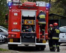 Pożar w Bączej Kuninie, fot. arch. Sądeczanin.info