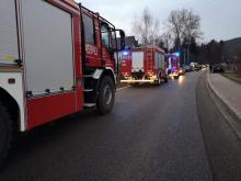 Cztery osoby trafiły do szpitala po zderzeniu w Kasince Małej