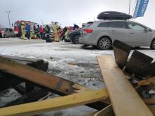 Wichura zerwała dach na stacji narciarskiej. Są ofiary śmiertelne [ZDJĘCIA]